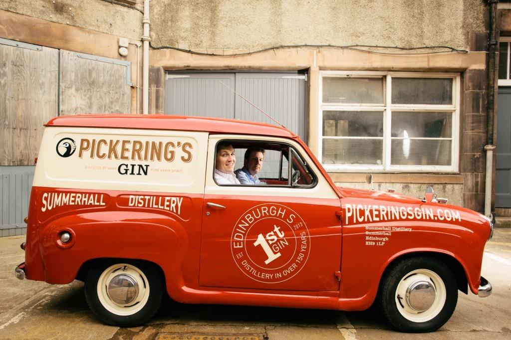 Pickering's Gin Distillery, Edinburgh